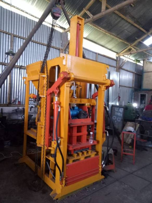 jual mesin press batako hidrolik