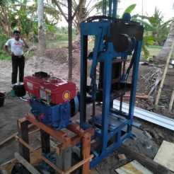 mesin paving block manual