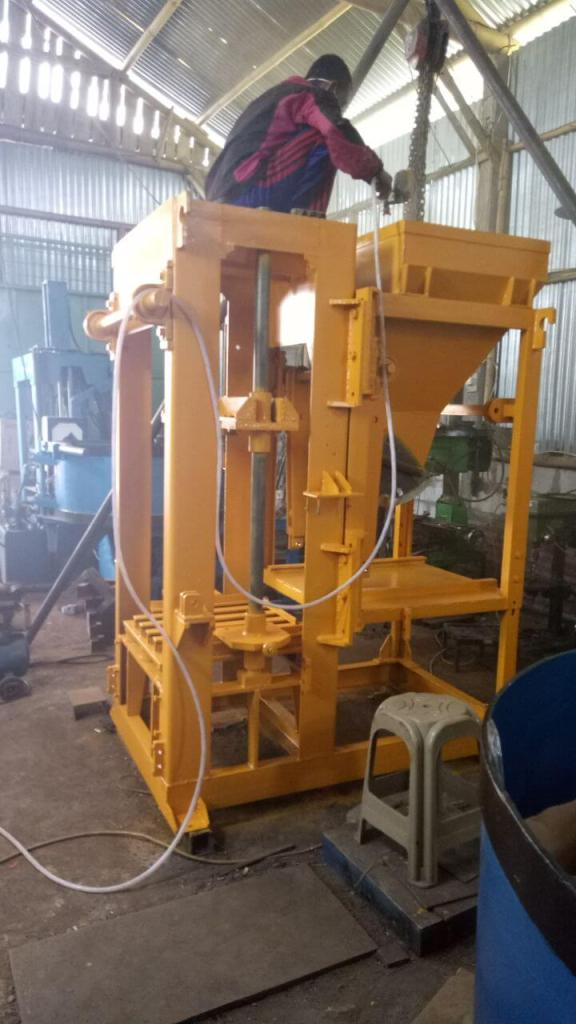 Jual mesin press batako di malang