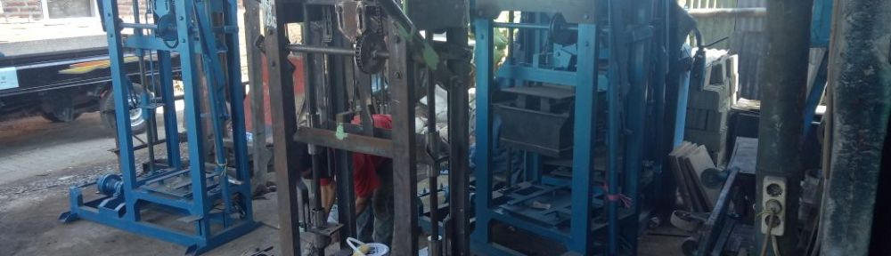 Jual mesin paving block di Bima