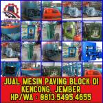 Jual Mesin Paving Block di Kencong, Jember – 0813.5495.4655