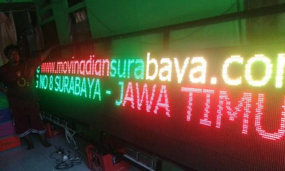 Jual Running text di surabaya