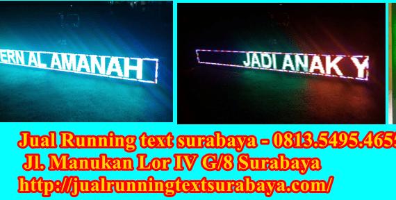 Jual Running text di bojonegoro hub – 0813.5495.4655