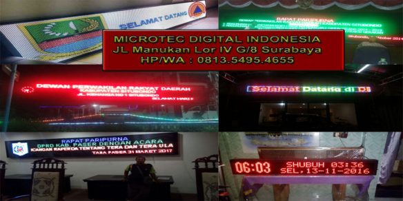 jual running text murah