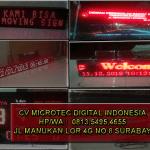 Jual Running text di Kupang – 0813.5495.4655