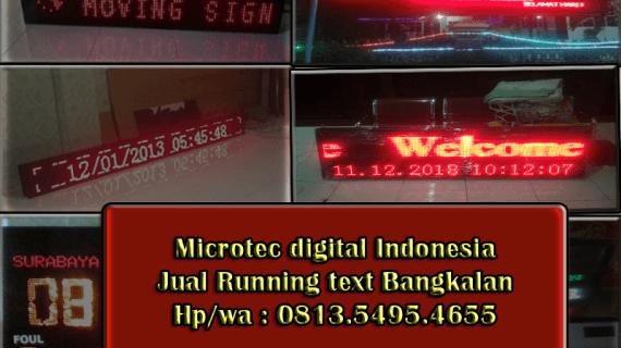 Jual Running text Bangkalan II Jadwal sholat 0813.5495.4655