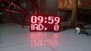 Jual running text mini surabaya2