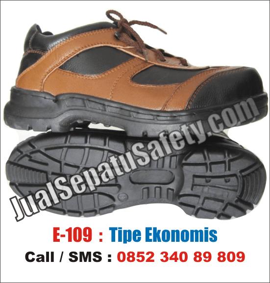 E.109 Sepatu Safety Murah LOKAL EKONOMIS