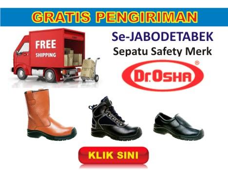 HILDAN SAFETY Promosi Free Ongkir Sepatu Safety Dr.OSHA