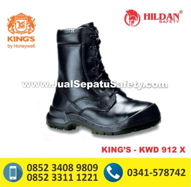 KING'S KWD 912 X,Produsen Sepatu Safety KING'S Panjang Bertali