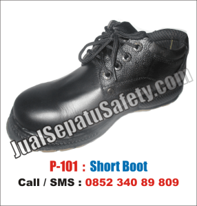 P.101 Sepatu Safety Shoes Murah, HP: 0852 340 89 809.