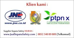 JualSepatuSafety.com menerima pesanan safety shoes dari PT.JNE Pusat Jakarta