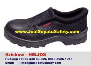 Krisbow Helios-Sepatu Proyek Slip On Tanpa Tali, HP.0852 340 89 809