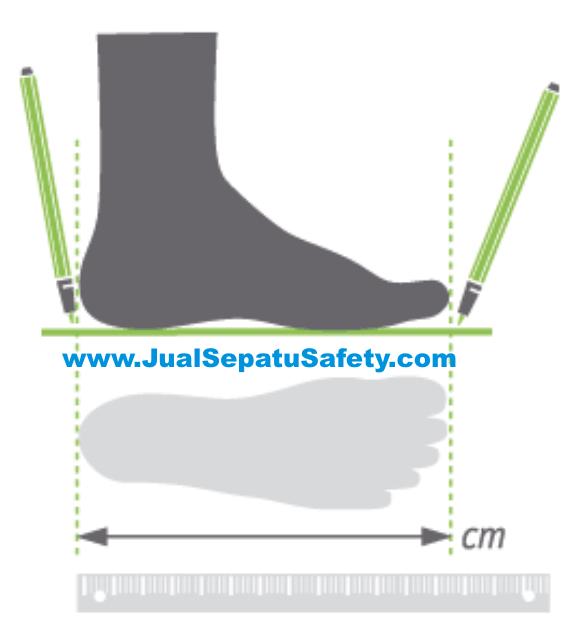 Ukuran Sepatu Luar Negeri Soalan Bs