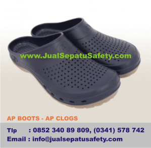Gambar Sepatu AP BOOTS - AP CLOGS, Sandal