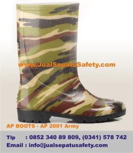 Jual Sepatu AP BOOTS ANAK - AP 2001 Army