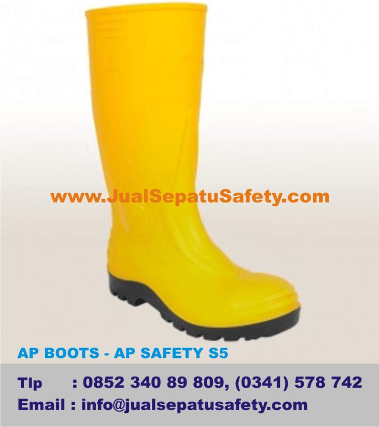 Jual Sepatu AP BOOTS - AP SAFETY S5, Standard SNI K3 Sepatu Keamanan