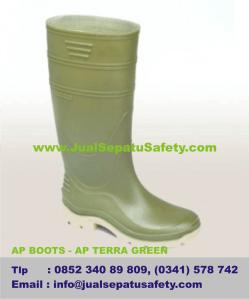 Jual Sepatu AP BOOTS - AP TERRA GREEN, Pasukan Kuning Kebersihan