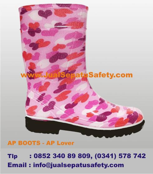 Katalog Sepatu AP BOOTS Anak Jakarta - AP Warna Pink Lover