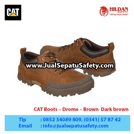 CAT Boots – Drome – Brown Dark brown1