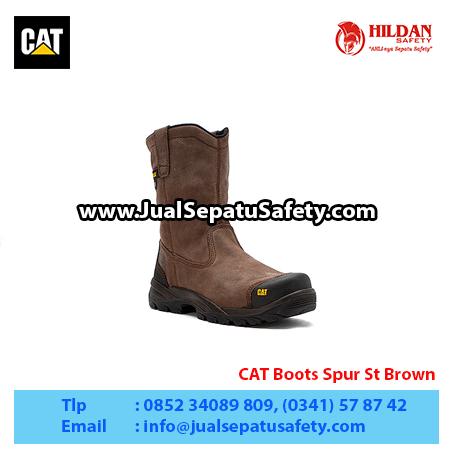 CAT Boots Spur St Brown
