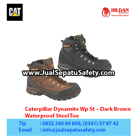 Caterpillar Dynamite Wp St – Dark Brown – Waterproof Steel Toe