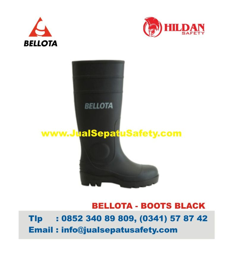 Sepatu Bellota Boot Black Safety Shoes