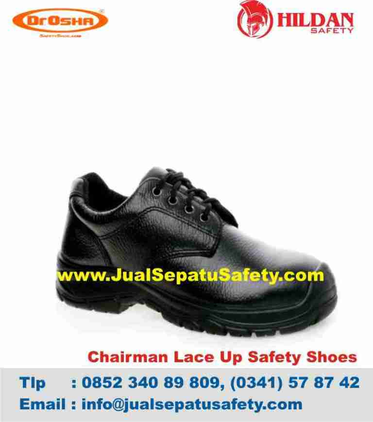 sepatu-safety-chairman-lace-up