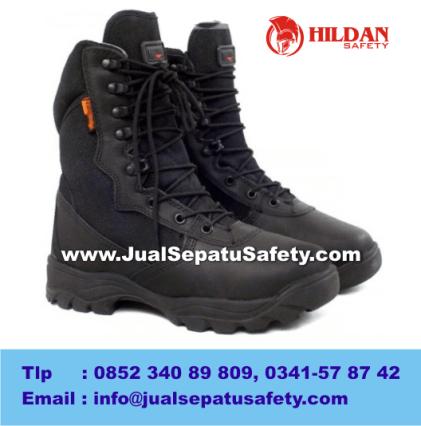 Gambar Sepatu PRIA Outdoor DELTA Tactical Boots 8.1 BLACK