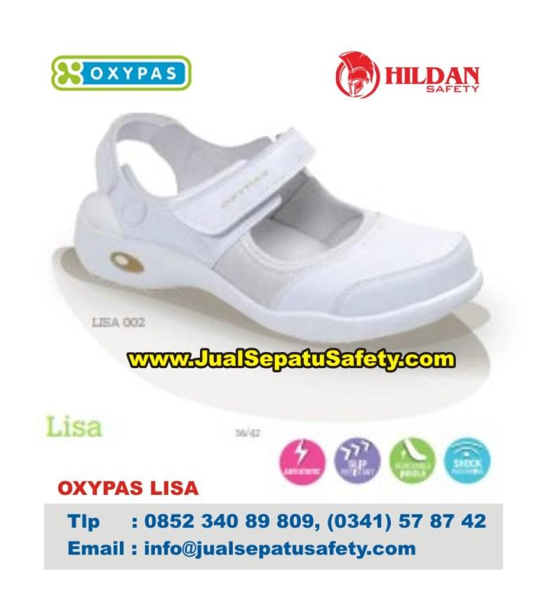 OXYPAS LISA, Gambar Sepatu Bidan Standar Kesehatan Dunia