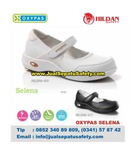 OXYPAS SELENA, Sepatu Perawat Terbaru Warna PUTIH