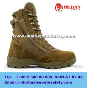 Toko Sepatu PRIA Outdoor DELTA Tactical Boots 8.1 TAN