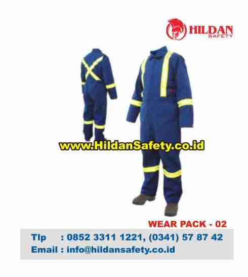 WP.002, Wear Pack Safety Biru