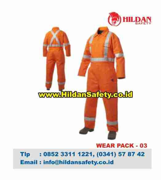 WP.003, Wear Pack Safety Orange