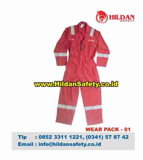 WP.004, Wear Pack Safety Pink