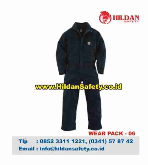 WP.006, Wearpack Coverall Hitam