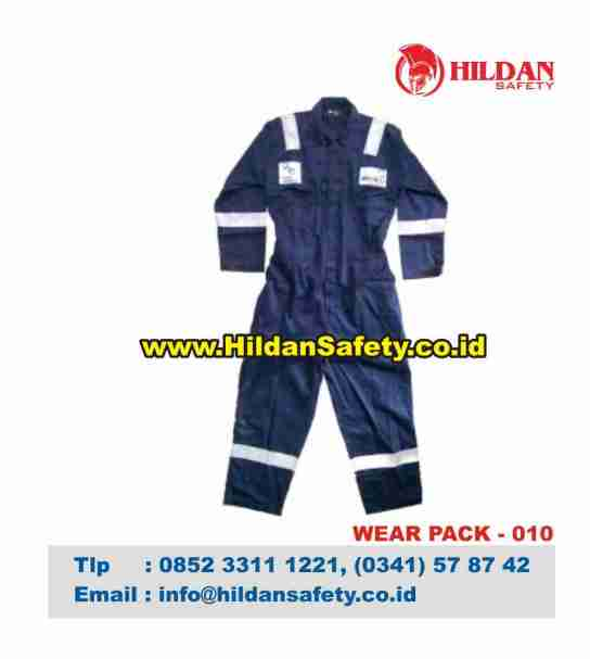 WP.010, Pakaian Safety Biru