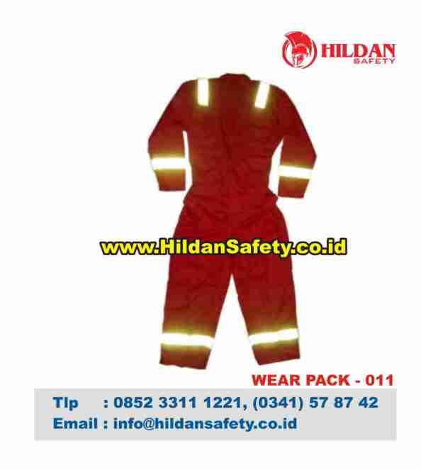 WP.011, Pakaian Safety Merah