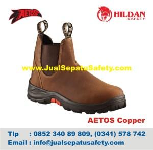 Sepatu Safety Shoes AETOS COPPER 813012