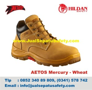 Sepatu Safety Shoes AETOS Mercury 813111 Wheat