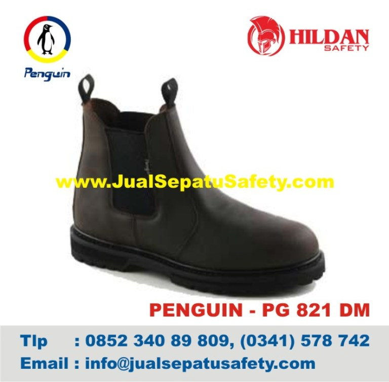 Sepatu Safety Shoes PENGUIN, PG 821 DM