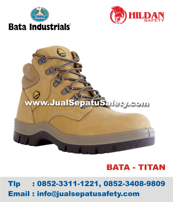 Sepatu Safety Shoes BATA TITAN