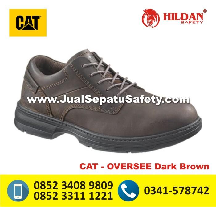 HARGA Sepatu Caterpillar ORIGINAL BANDUNG - CAT OVERSEE Dark Brown
