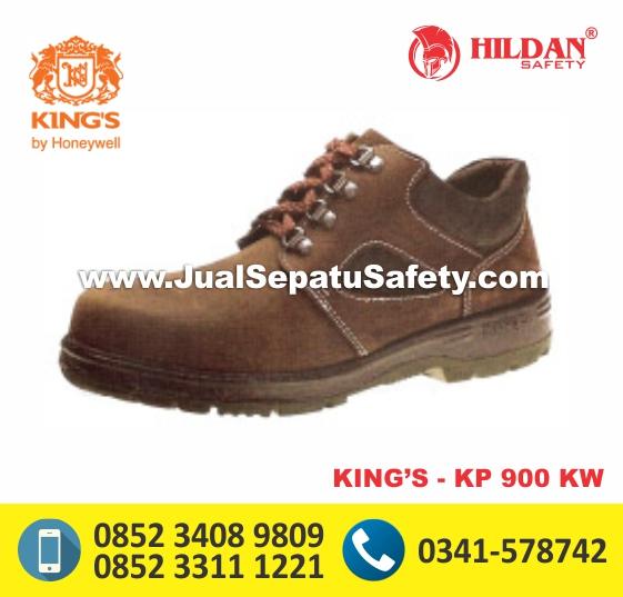 KING'S KP 900 KW,Sepatu Safety Warna Coklat Murah