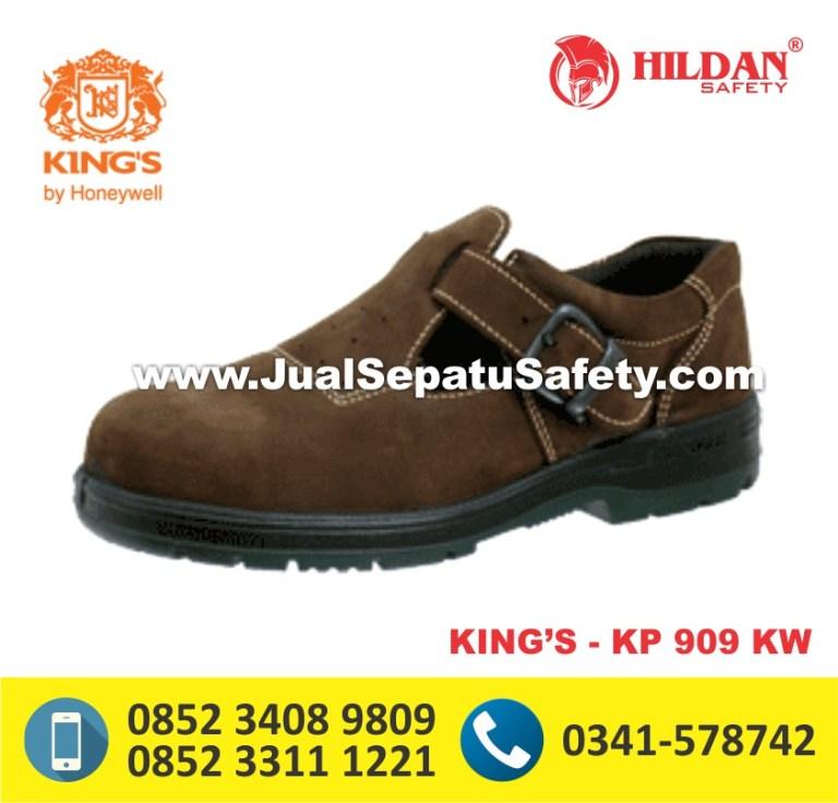 KING'S KP 909 KW,Sepatu Safety Warna Coklat Murah