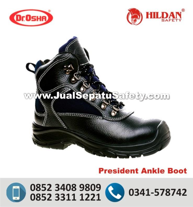 Dr.Osha President Ankle Boot - Harga Sepatu Safety Proyek Online di SURABAYA