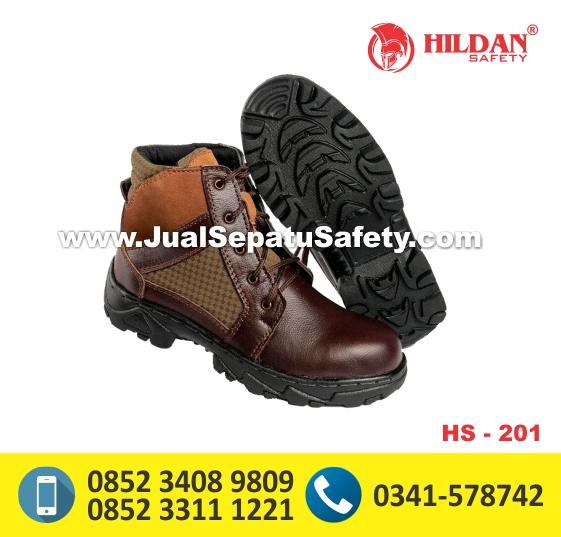 HS201,Jual Safety Shoes Tinggi Bertali