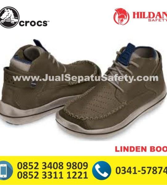 crocs linden boot espresso navy