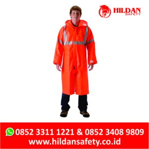 Distributor JAS HUJAN Anti Api, Flame Retardant Raincoat INDONESIA, Pakaian FIRE PROOF