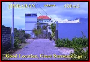 JUAL TANAH di JIMBARAN BALI 4,2 Are Lingkungan villa dan Hotel